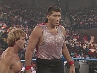 WCW Great American Bash 1990 - El Gigante made his in-ring debut