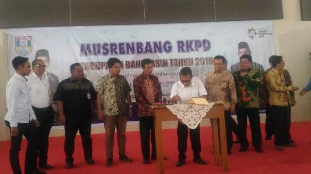 Rancangan Pembangunan Daerah, Pemkab Banyuasin Kerjasama Dengan Universitas Indonesia