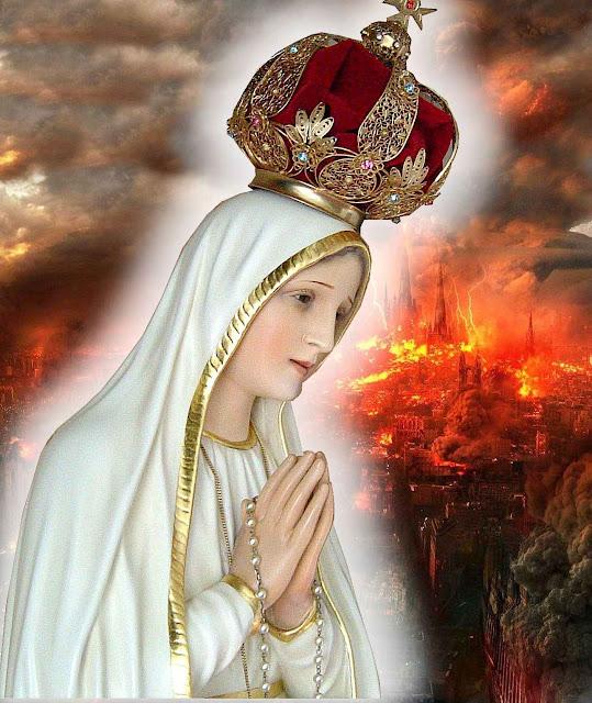 O Coração Imaculado de Nossa Senhora triunfara e no fim o mundo terá uma paz