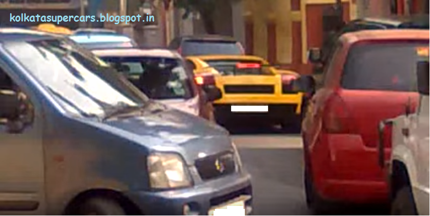 Super Cars Kolkata Lamborghini Galarado In Dum Dum Kolkata