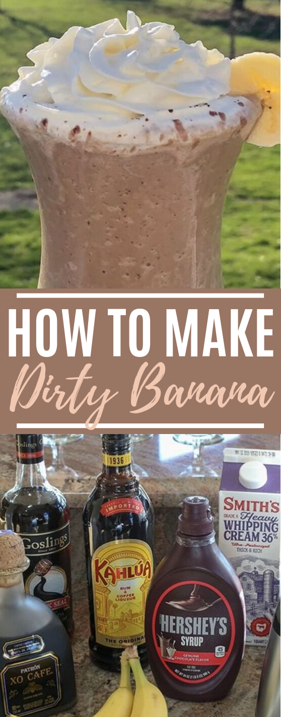 The Dirty Banana #drinks #alcohol
