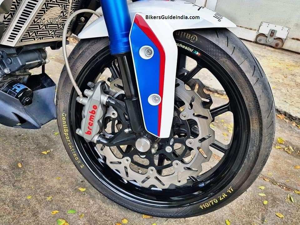 BMW G310R gets Upgraded brake caliper - Bikers Guide India