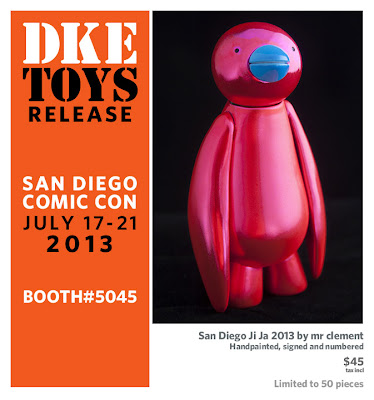 San Diego Comic-Con 2013 Exclusive San Diego Ji Ja 2013 Vinyl Figure by Mr Clement
