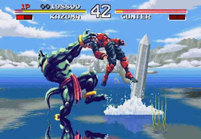 Review - Galaxy Fight - SEGA Saturn - Neo Player - Podcast sobre videogames
