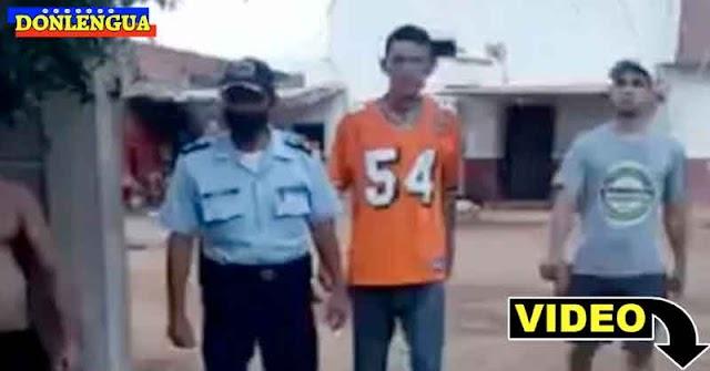 VERGONZOSO | Presos entregan a un policía que habían secuestrado dentro de un retén