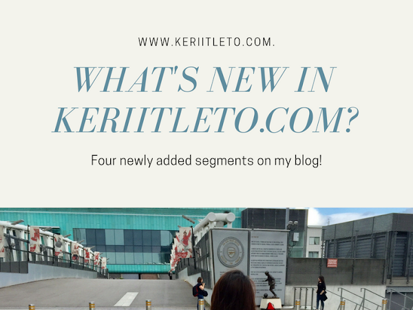 What's New on keriitleto.com website?