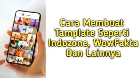 Cara Membuat Tamplate Instagram Seperti Indozone dan WowFakta Di Handphone Dengan Mudah