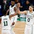 Irving y Tatum, la combinación indetenible de los Celtics ante los Pacers