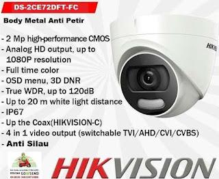 CCTV HIKVISION DS-2CE72DFT-FC