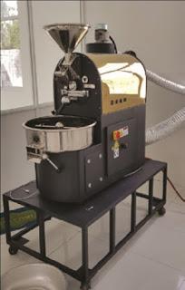 Máy rang cà phê Brotek 3kg