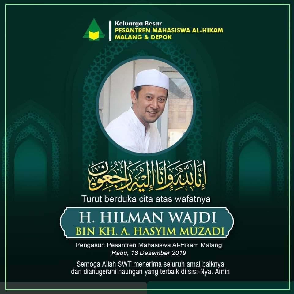 Putra KH Hazim Muzadi meninggal dunia