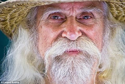 old man with white hair and beard