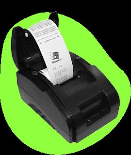 impressora receiver printer POS-58 usb
