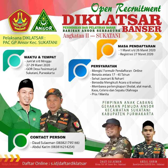 diklatsar-banser-sukatani-purwakarta-2020-daud-sulaeman-ketua-pac-ansor