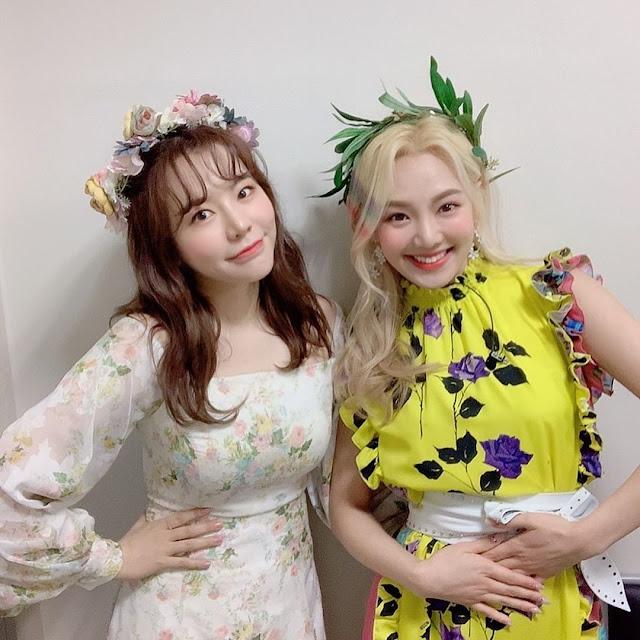 snsd sunny and hyoyeon