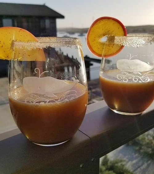 Coastal Nautical Cocktail Glasses Whisky