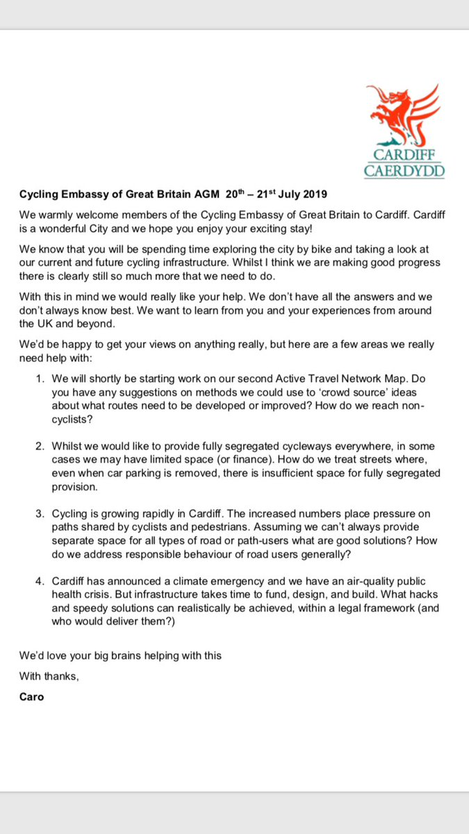 Efforts Underway To Fully Fund Idea >> The Ranty Highwayman Cycling Embassy Of Great Britain Agm 2019 The