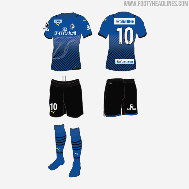 Oita Trinita 2021 Home, Away & Goalkeeper Kits Revealed - Footy ...