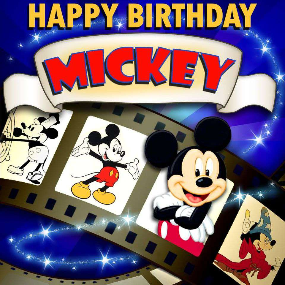 Mickey Mouse's Birthday Wishes Unique Image