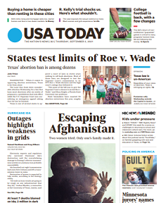 Read Online USA Today Magazine 2 September 2021 Hear And More USA Today News And USA Today Magazine Pdf Download On Website.