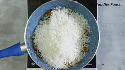 Veg Fry Pulao Recipe / Veg Fry Pilaf Recipe