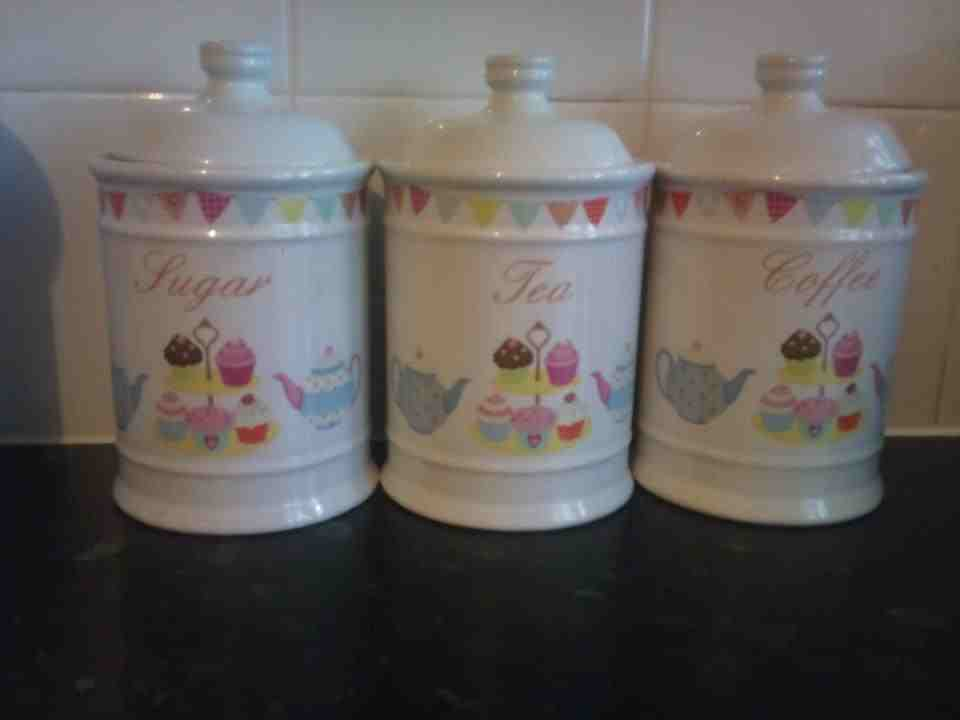 cupcake canisters for kitchen the wonders scary thoughts of a crazy mummy the gallery my kitchen 1034
