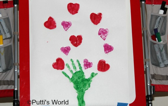 Hearts Tree Kids Valentine