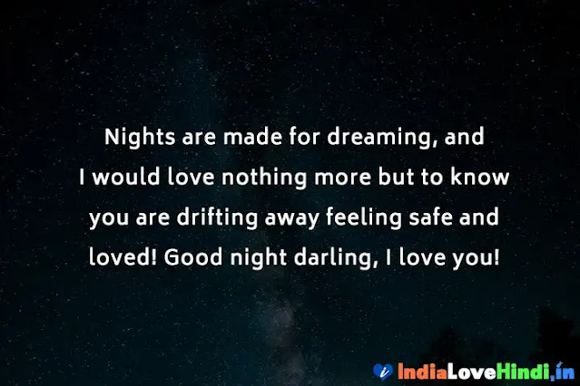 heart melting good night messages for her
