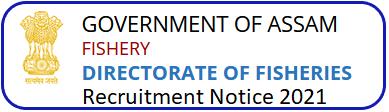 Department of Fisheries Assam Grade 4 Recruitment 2021