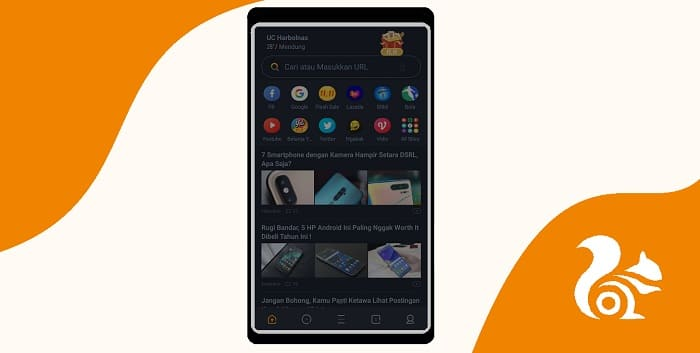 Cara Aktifkan Mode Gelap di UC Browser Android Terbaru