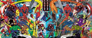 Russell Payne colouring Trevor Von Eeden art