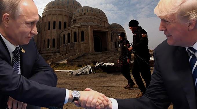 Reunión de Putin y Trump - Consecuencias - Liberación de Mosul