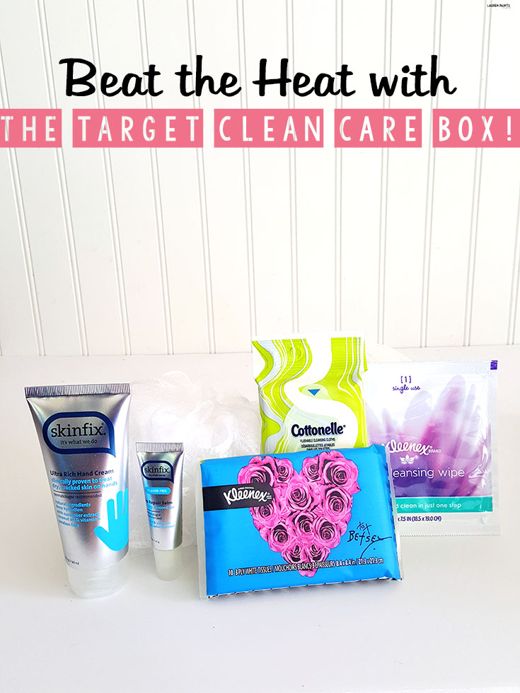 Don't let the heat hold you back this summer! Find out how you can beat the heat with The Target Clean Care Box! #CottonelleCleanCareBox #Target