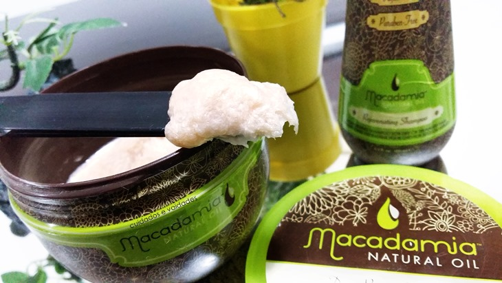 Máscara e Shampoo Macadamia Natural Oil