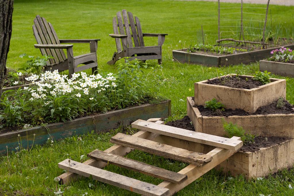 Sillas de madera para jardín