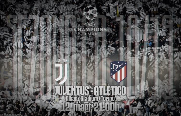 Liga prvaka 2018/19 / 1/8 / Juventus - Atlético M, utorak, 21:00h