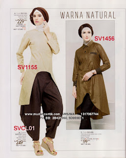 gamis casual modern
