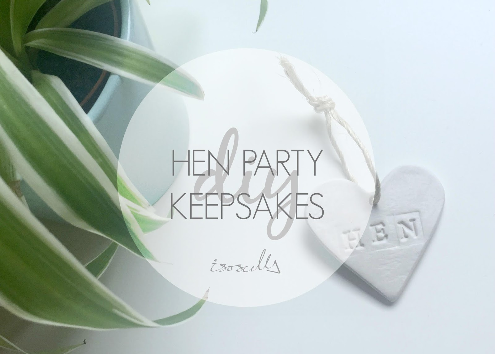DIY Hen Party Keepsakes by Isoscella