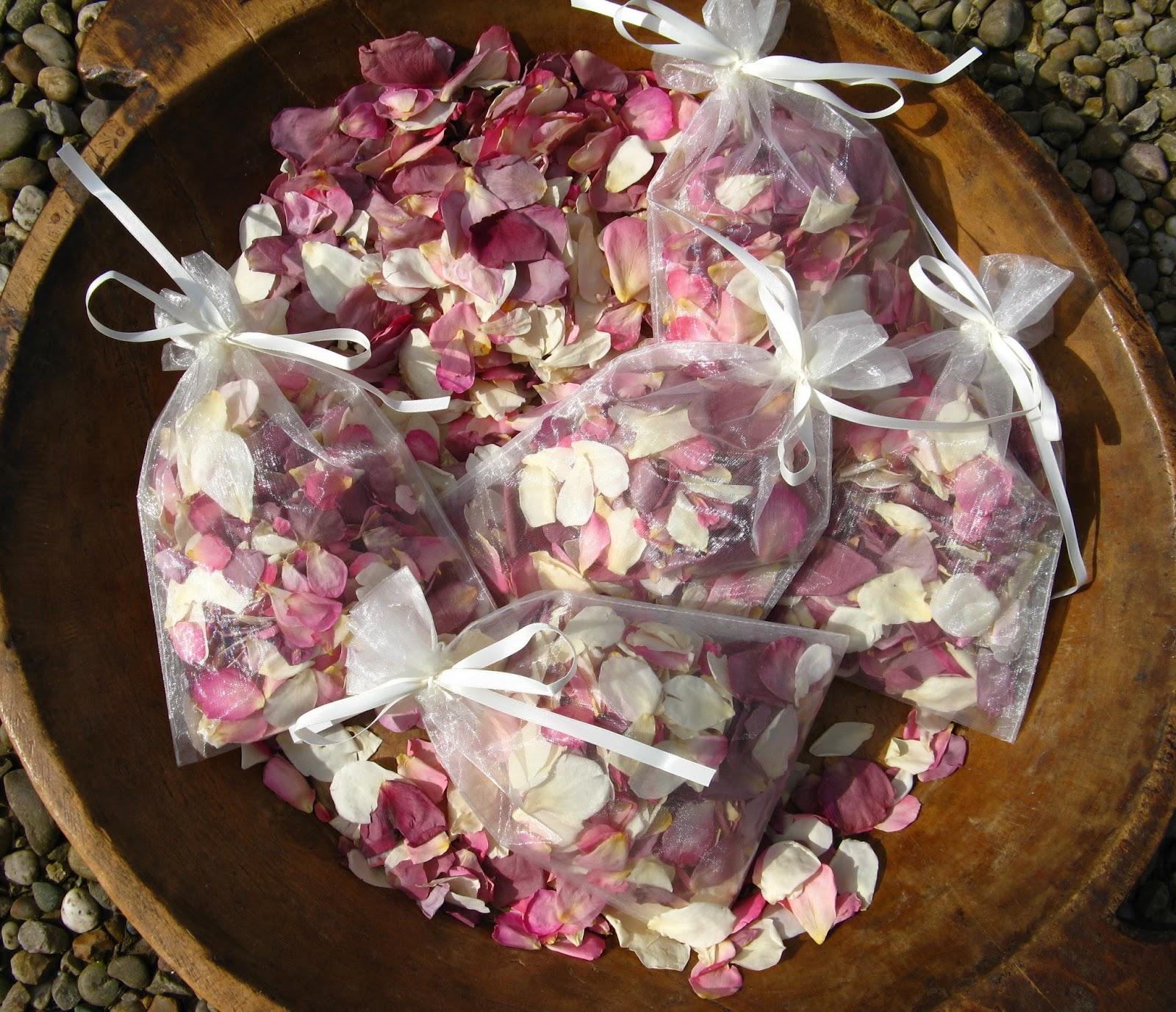 Real Flower Petal Confetti Natural Rose Petals Wedding