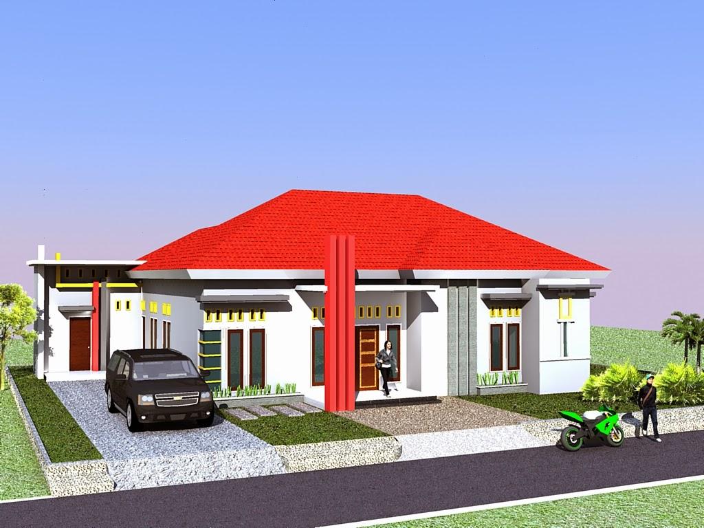 contoh desain rumah minimalis terbaru 2014