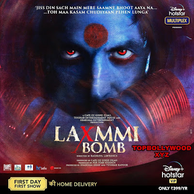 Laxmmi Bomb (2020) Full Movie Leaked On Tamilrockers For Free Download