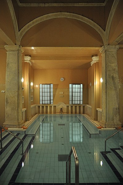 Lukacs Baths Budapeste