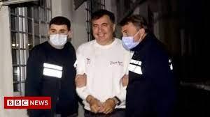 ormer Georgian President Mikheil Saakashvili arrested on eve of election