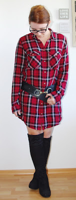 [Fashion] The Plaid Shirt Dress