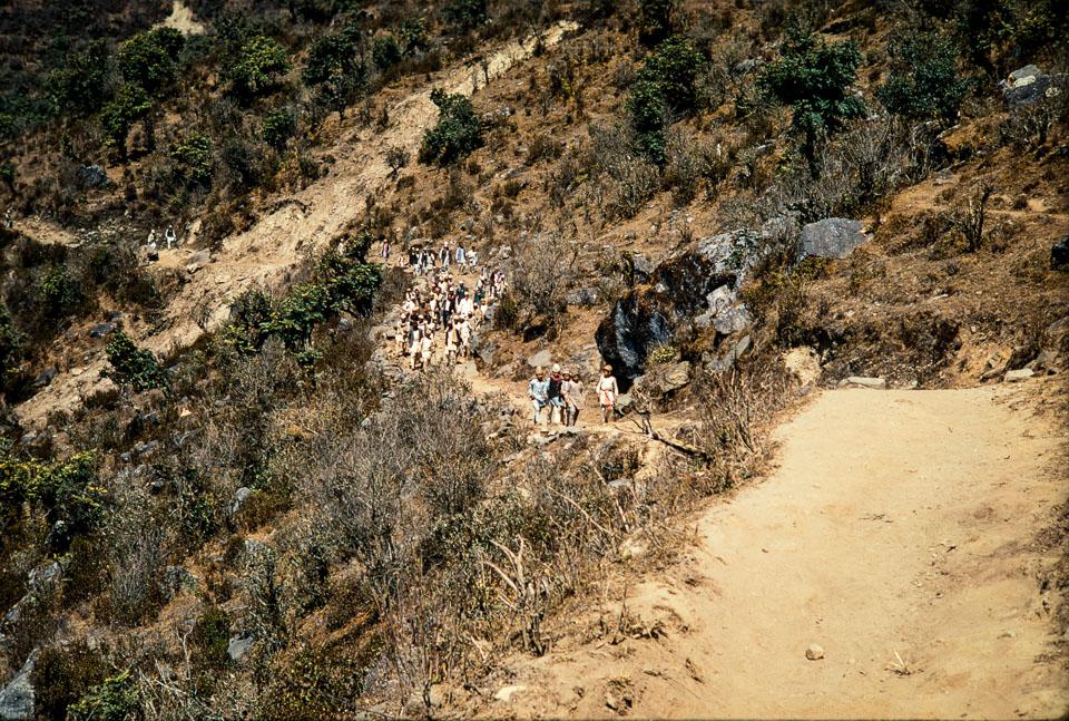 Old image of Tehrathum , Nepal