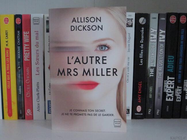 avis lecture l'autre mrs miller, alison dickson