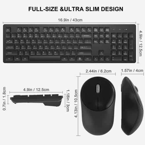 Review WisFox Wireless Keyboard and Mouse