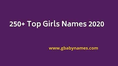 Top Girls Names 2020