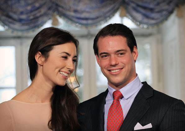 Prince Felix and Claire Lademacher took place at the Chateau Berg