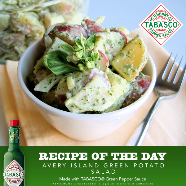 Avery Island Green Potato Salad